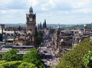 Panorámica Edimburgo